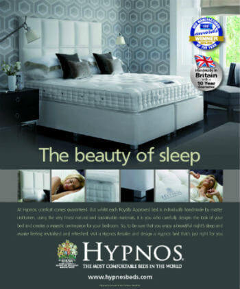 Hypnos Bed Advert