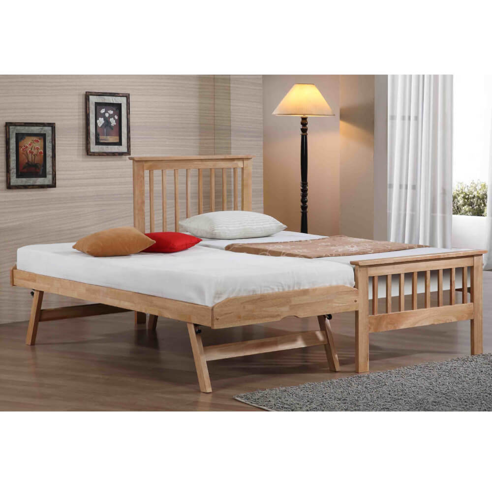Flintshire Furniture Pentre Oak Guest Bed