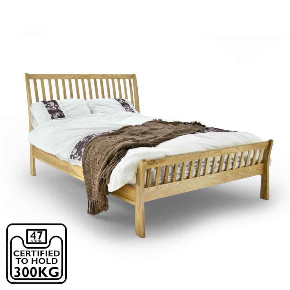 Ashton Oak Bed Frame