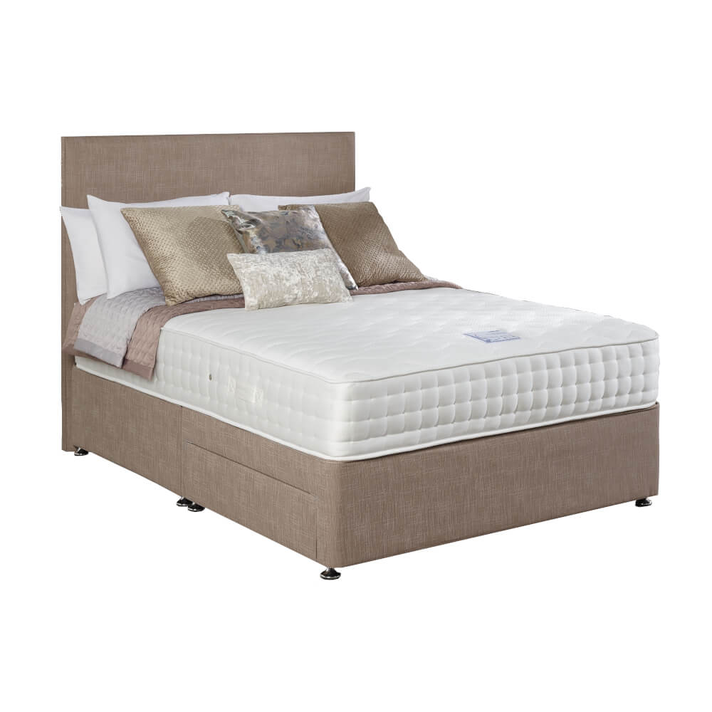 Relyon Aurora Gel Latex Deluxe Divan Bed