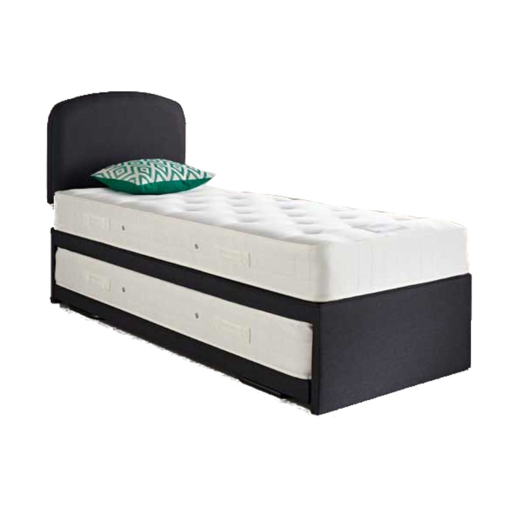 Relyon Upholstered Guest Bed & Open Coil Mattresses