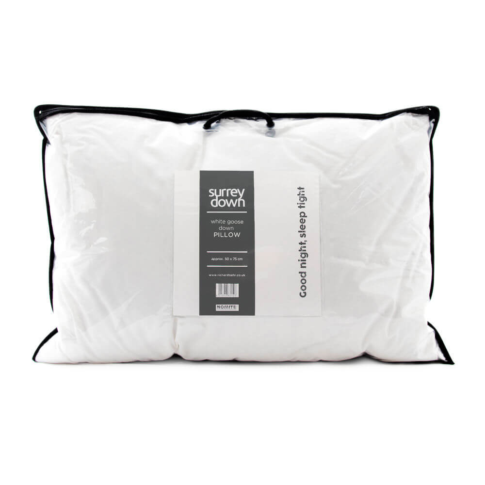 Surrey Down White Goose Down Pillows