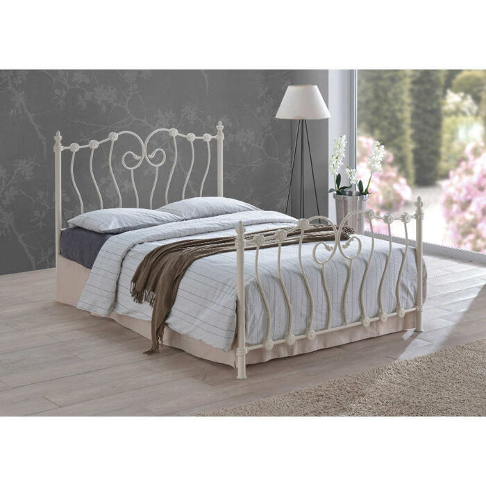 Time Living Inova Bed Frame Ivory