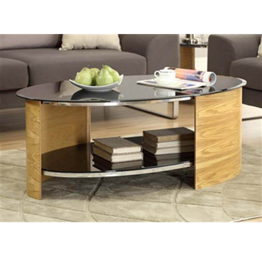 Jual Curve JF301 Oak Coffee Table
