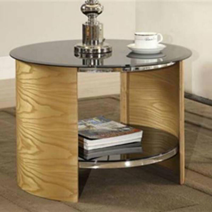 Jual Curve JF303 Oak LampTable