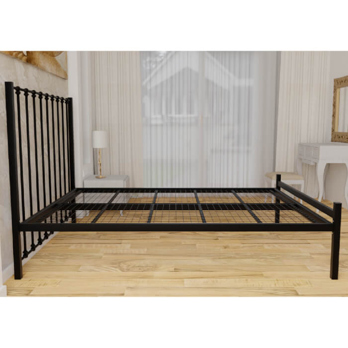 Krisjon Low Foot End Bed Frame Black