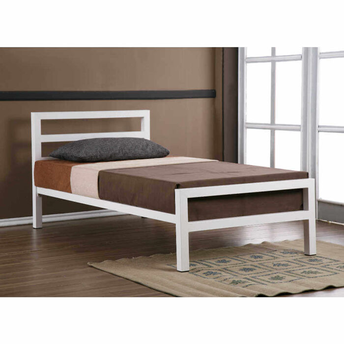 Time Living City Block Bed Frame Black