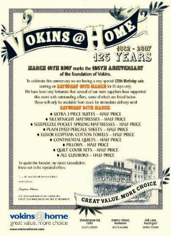 Vokins 125 Anniversary