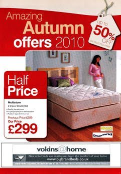 Amazing Autumn Bed Offers Brochure