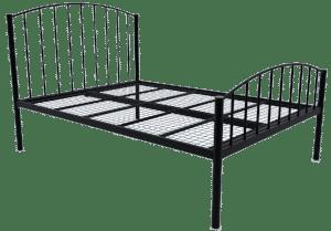 Francesca Wrought Iron Reinforced Bed Frame
