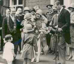 Great Grandfather meets the Duke & Duchess of York