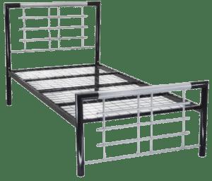 Atlanta Reinforced Metal Bed Frame