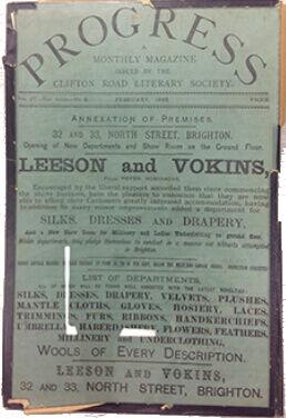 Vokins advert 1886