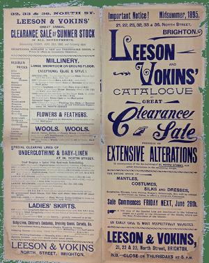Vokins advert 1895