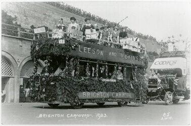 Vokins Carnival Float 1923