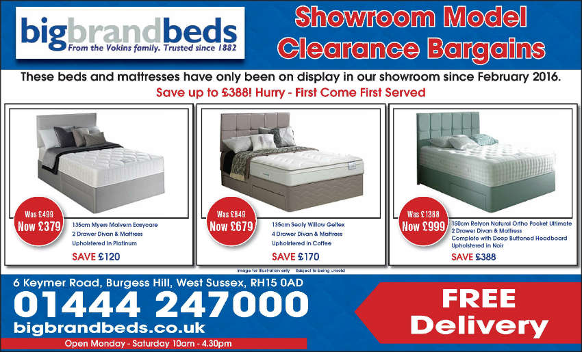 Myers Relyon Sealy Beds