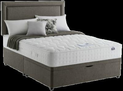 Silentnight Holly 1200 Latex Supreme Divan Bed Undressed