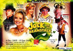 Vokins@home sponsor Jack and Beanstalk pantomime 2006