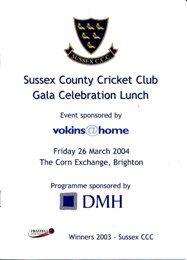 vokins@home sponsor Sussex County Cricket Club