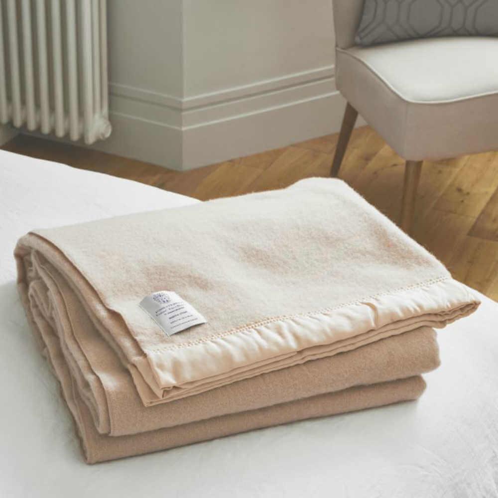 John Atkinson North Star Wool Blanket Double