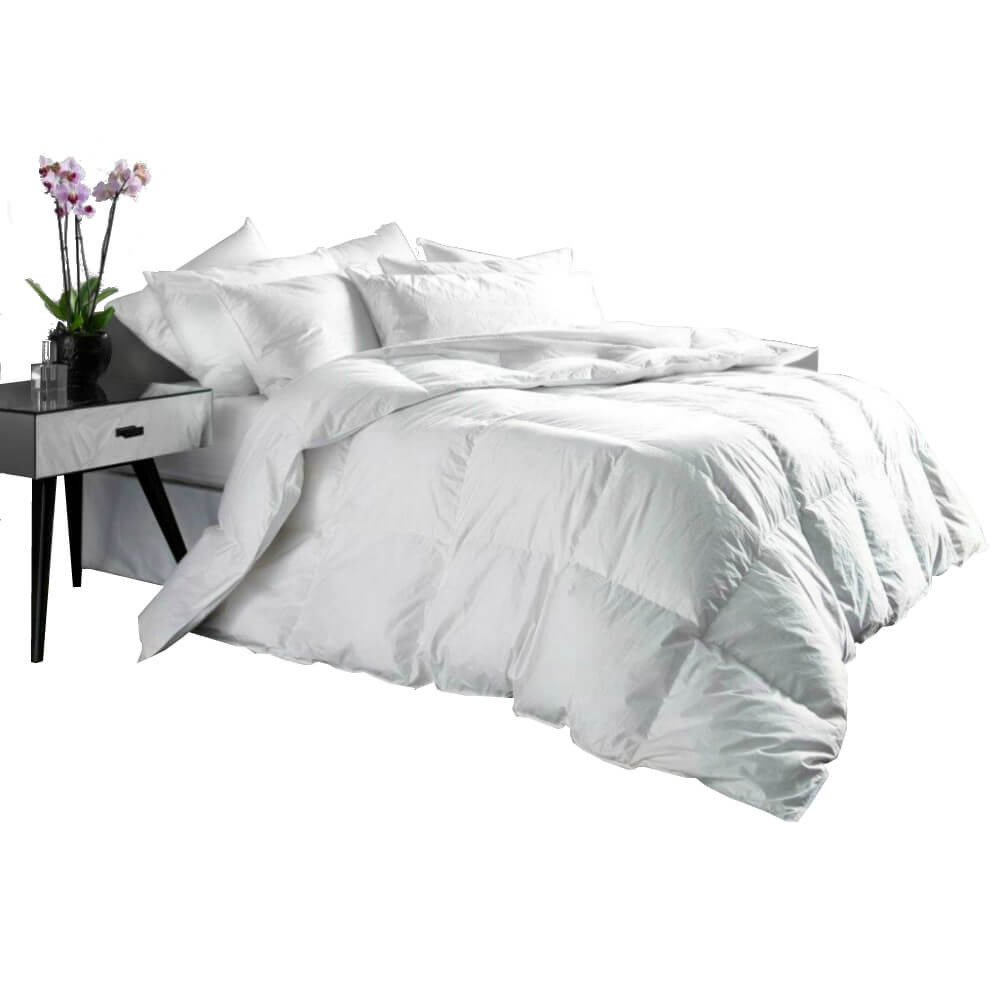 Euroquilt Hungarian Goose Feather & Down Duvets Double