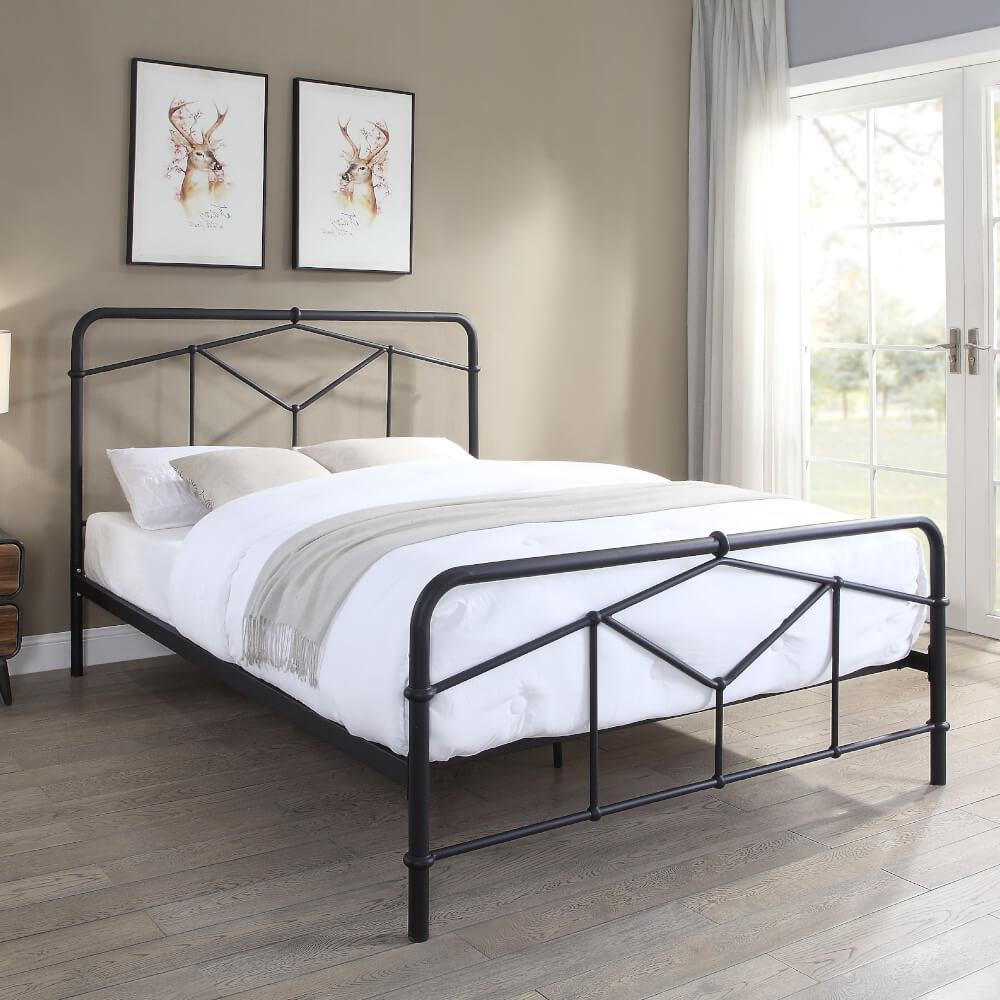 Flintshire Furniture Axton Black Bed Frame