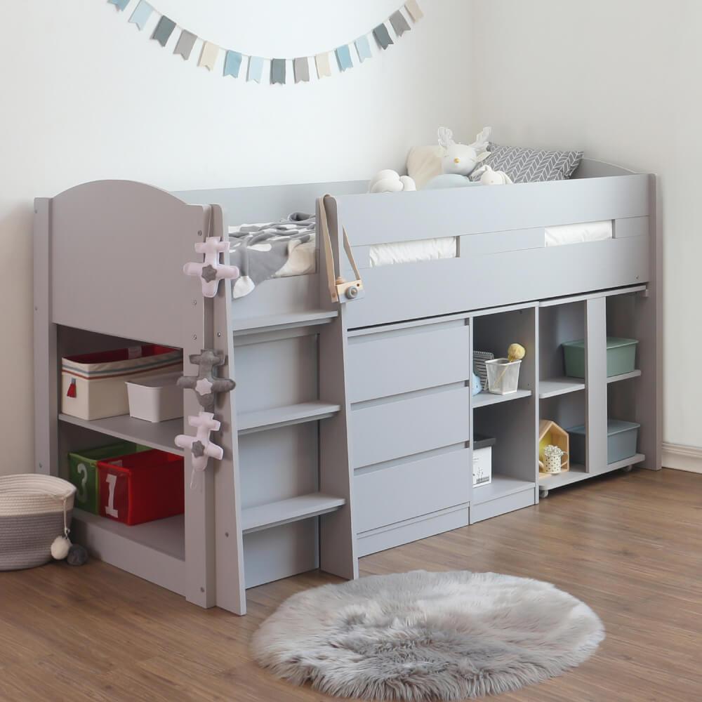 Flintshire Furniture Billie Mid Sleeper Bed