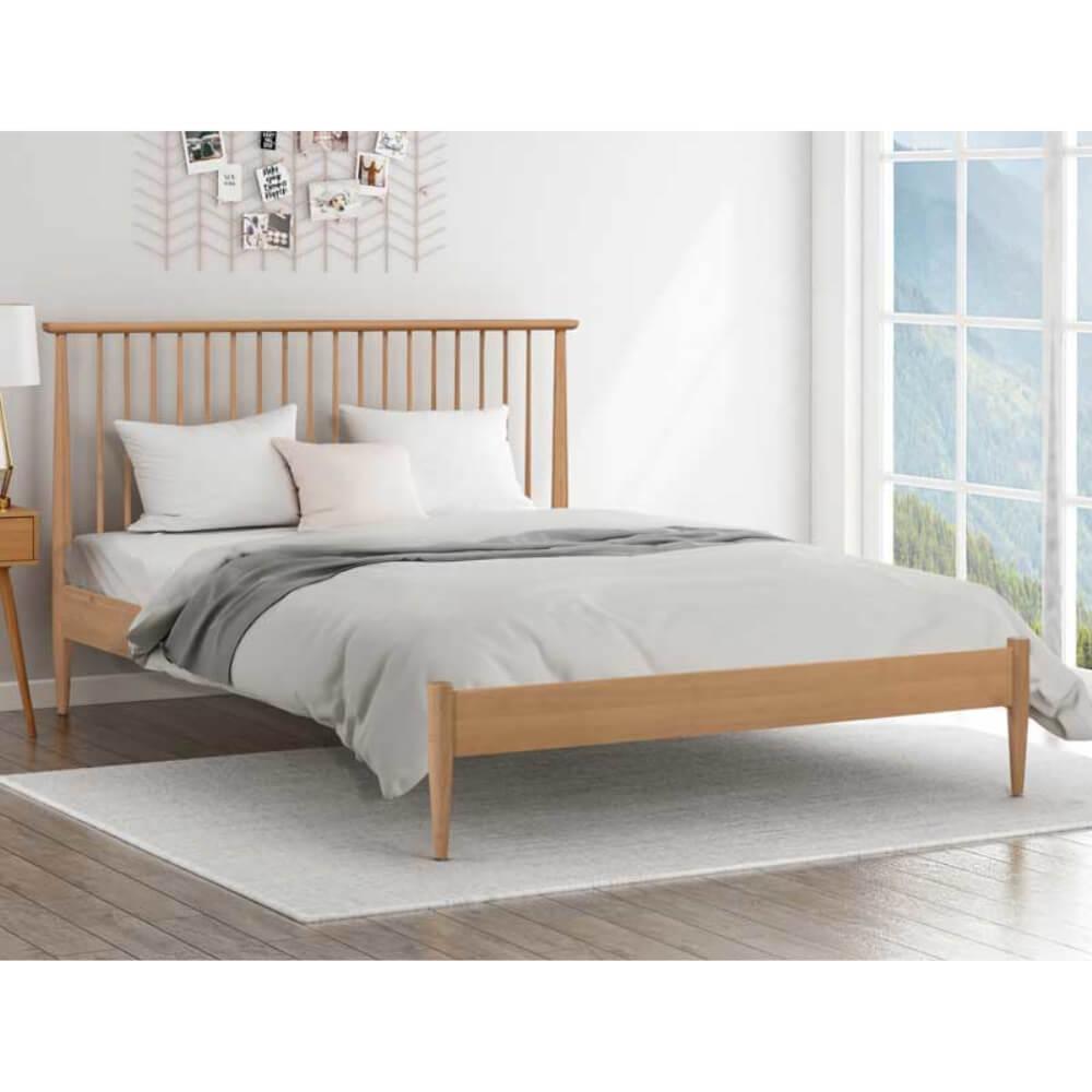 Flintshire Furniture Grosvenor Oak Bed Frame