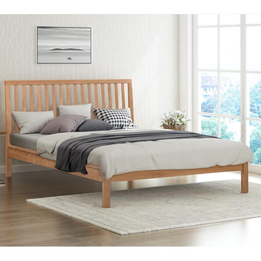 Flintshire Furniture Rowley Oak Bed Frame