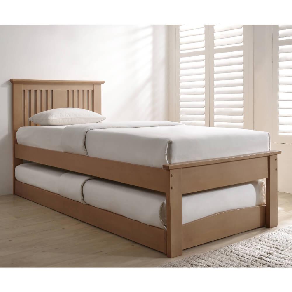 Flintshire Furniture Halkyn Oak Guest Bed