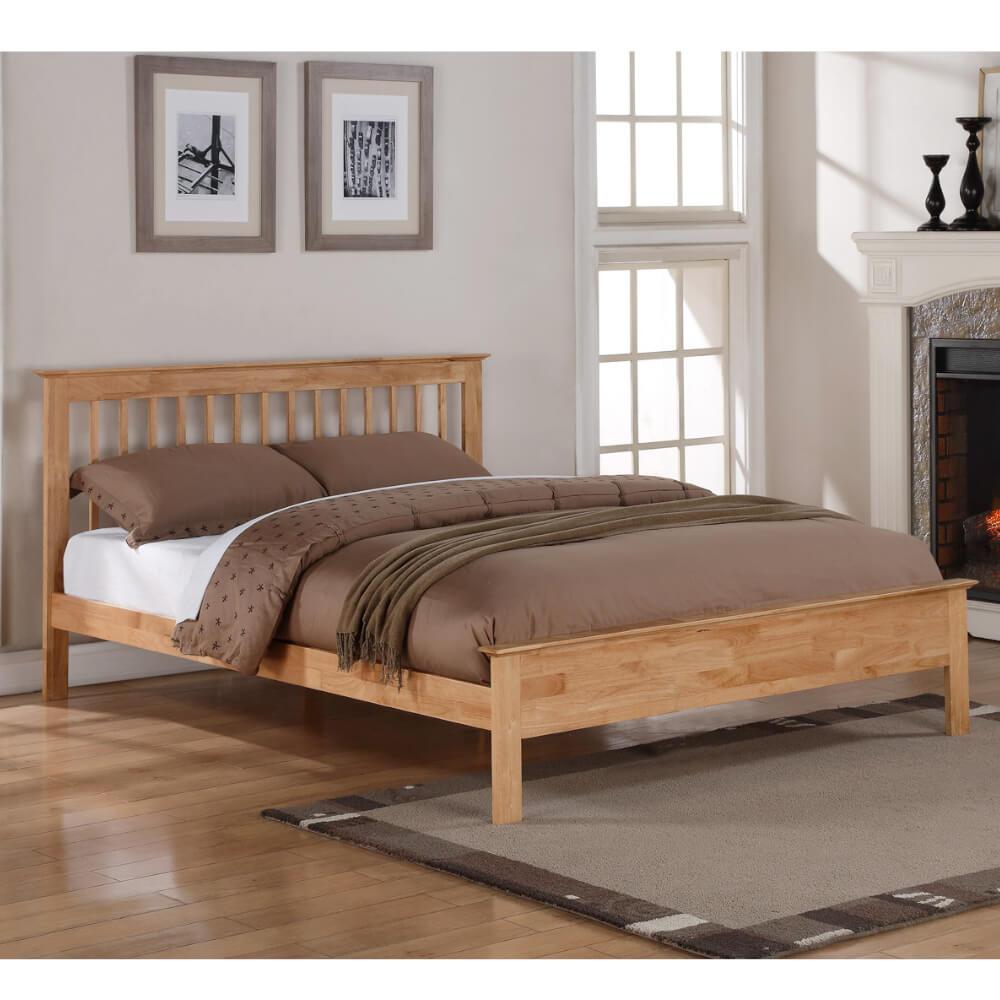 Flintshire Furniture Pentre Oak Bed Frame