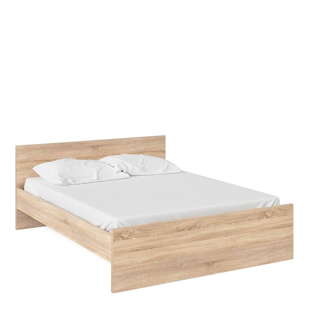 Naia Oak Bed Frame Double