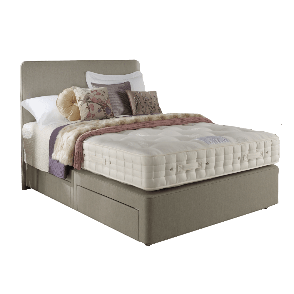Hypnos Wisteria Seasons Turn Divan Bed King Size Zip & Link