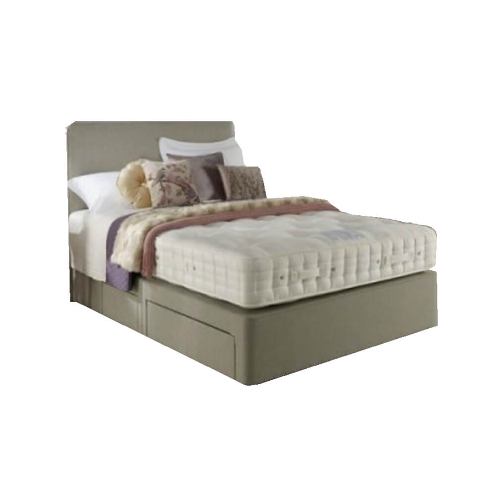 Hypnos Wisteria Seasons Turn Ottoman Bed Super King Size Zip & Link