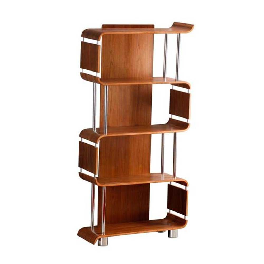 Jual Curve Walnut BS201 Bookshelf