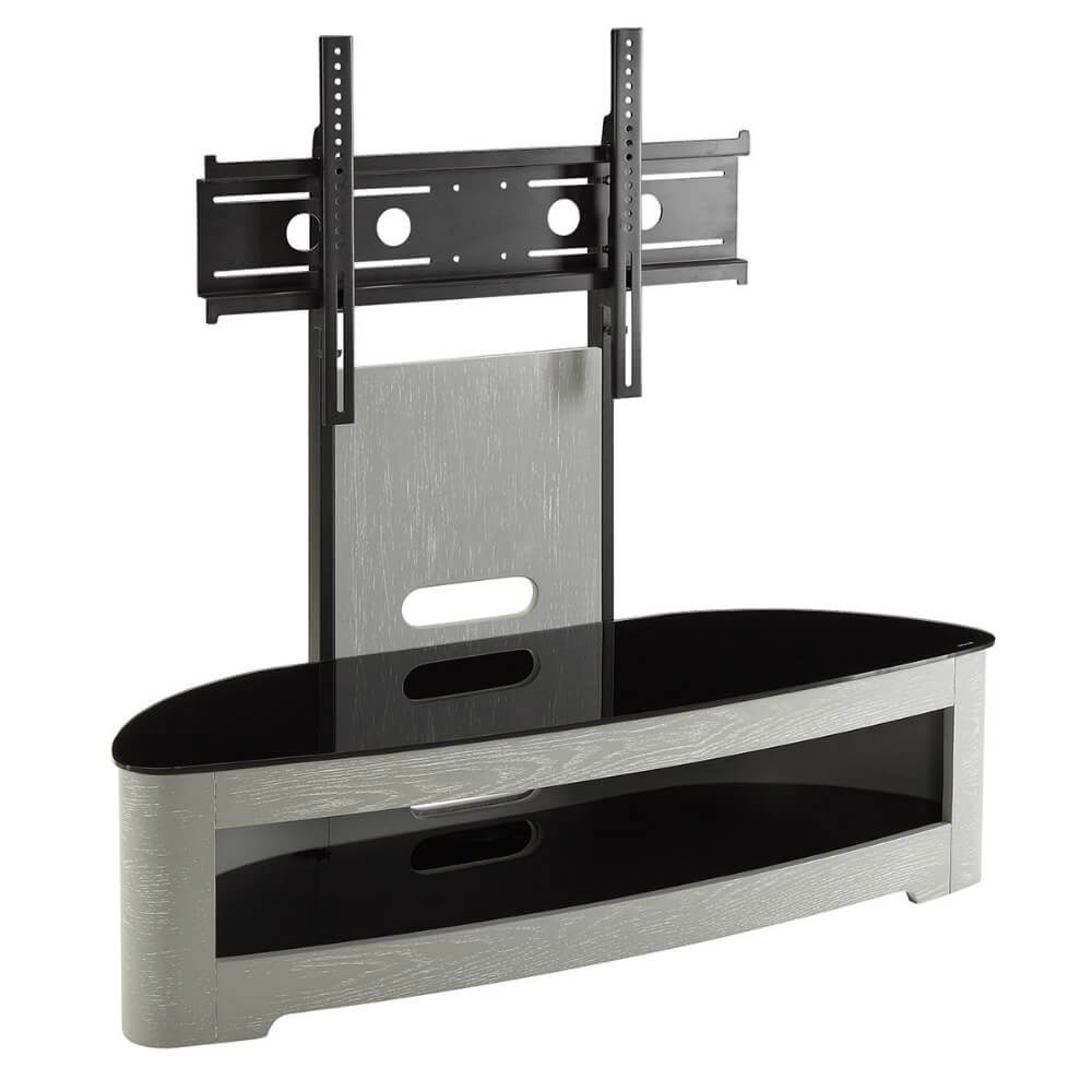 Jual Curve Grey Ash JF209 Cantilever TV Stand