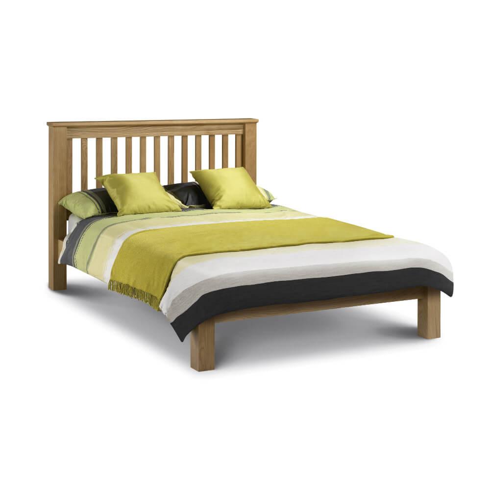 Julian Bowen Amsterdam Low Foot End Bed Frame Super King Size