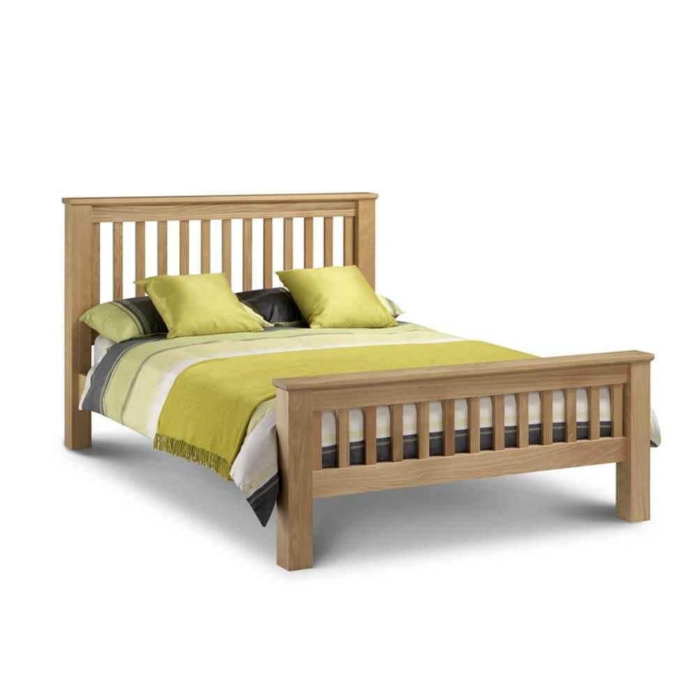 Julian Bowen Amsterdam High Foot End Bed Frame Super King Size