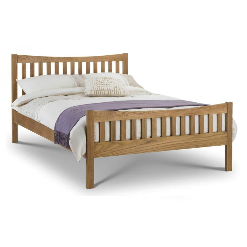 Julian Bowen Bergamo Oak Bed Frame