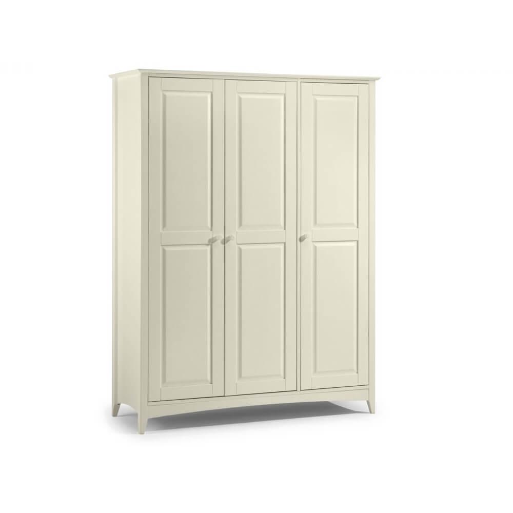 Julian Bowen Cameo Stone White Bedroom Furniture