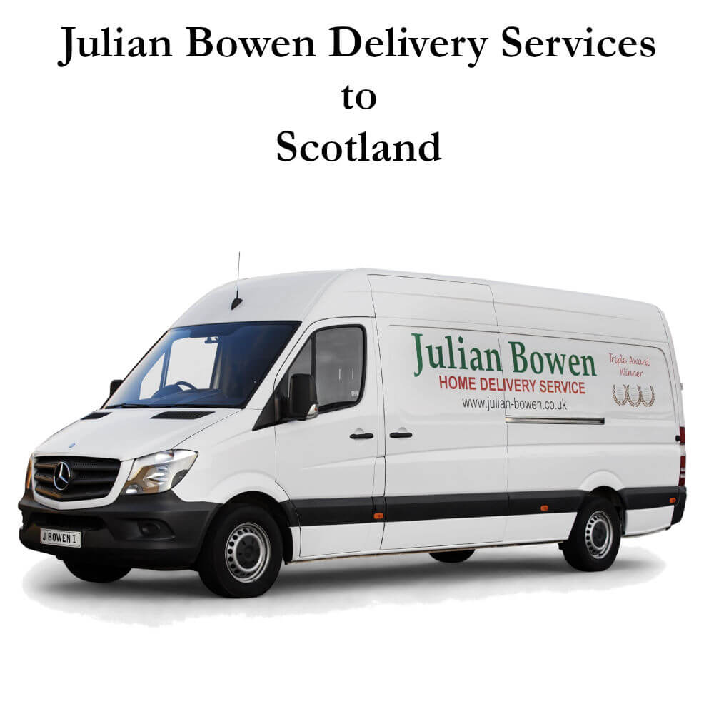 Julian Bowen Delivery to Scotland