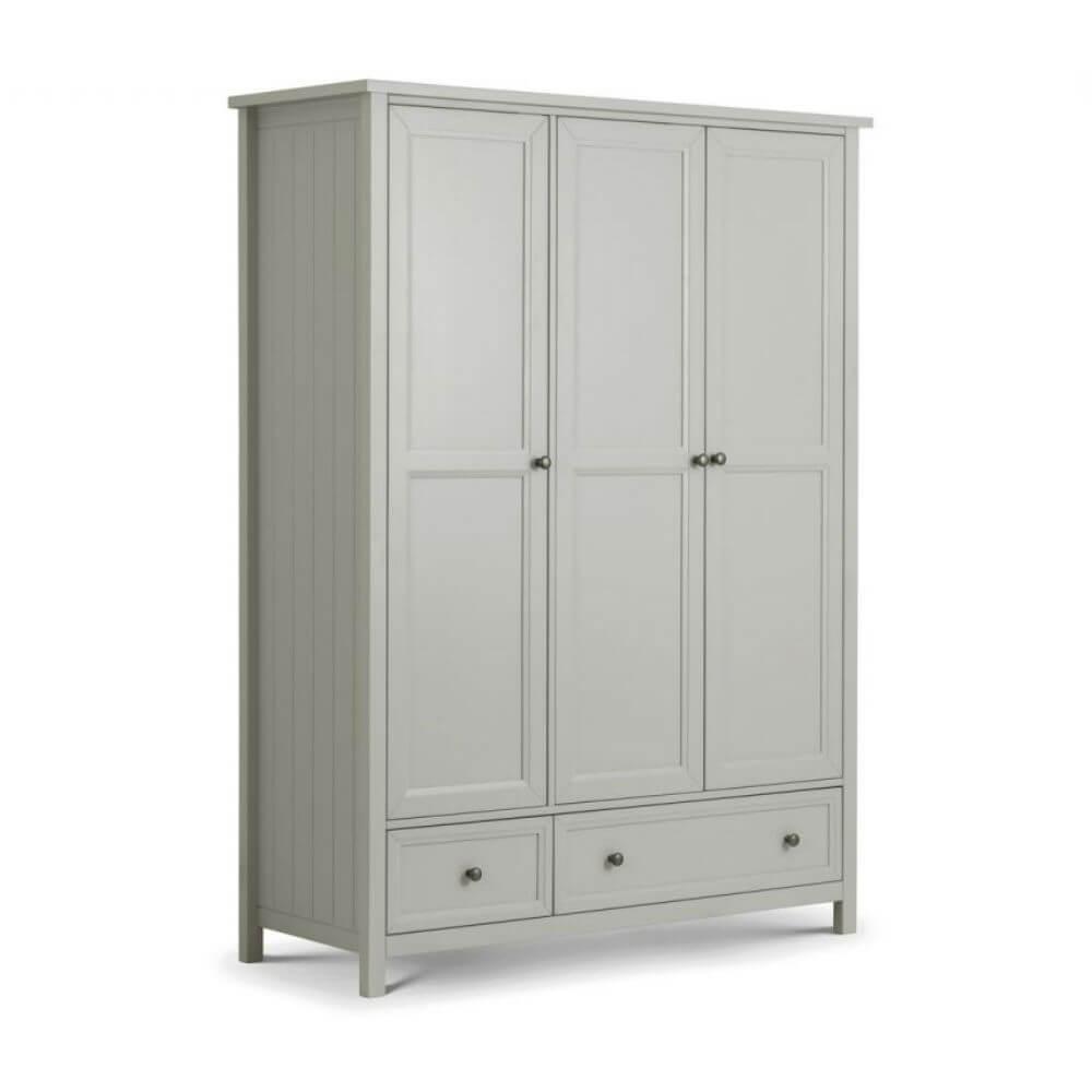 Julian Bowen Maine Dove Grey Bedroom Furniture