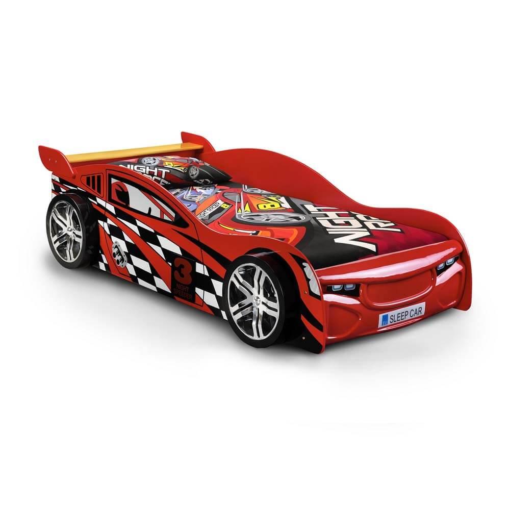 Single Julian Bowen Scorpion Racer Bed Frame