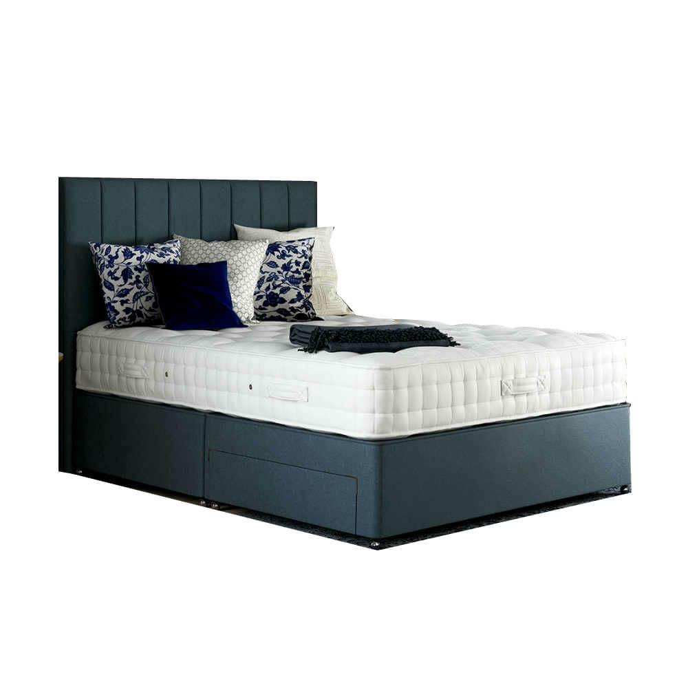 Relyon Royal Harlington Pocket 1700 Divan Bed Super King Size Zip & Link