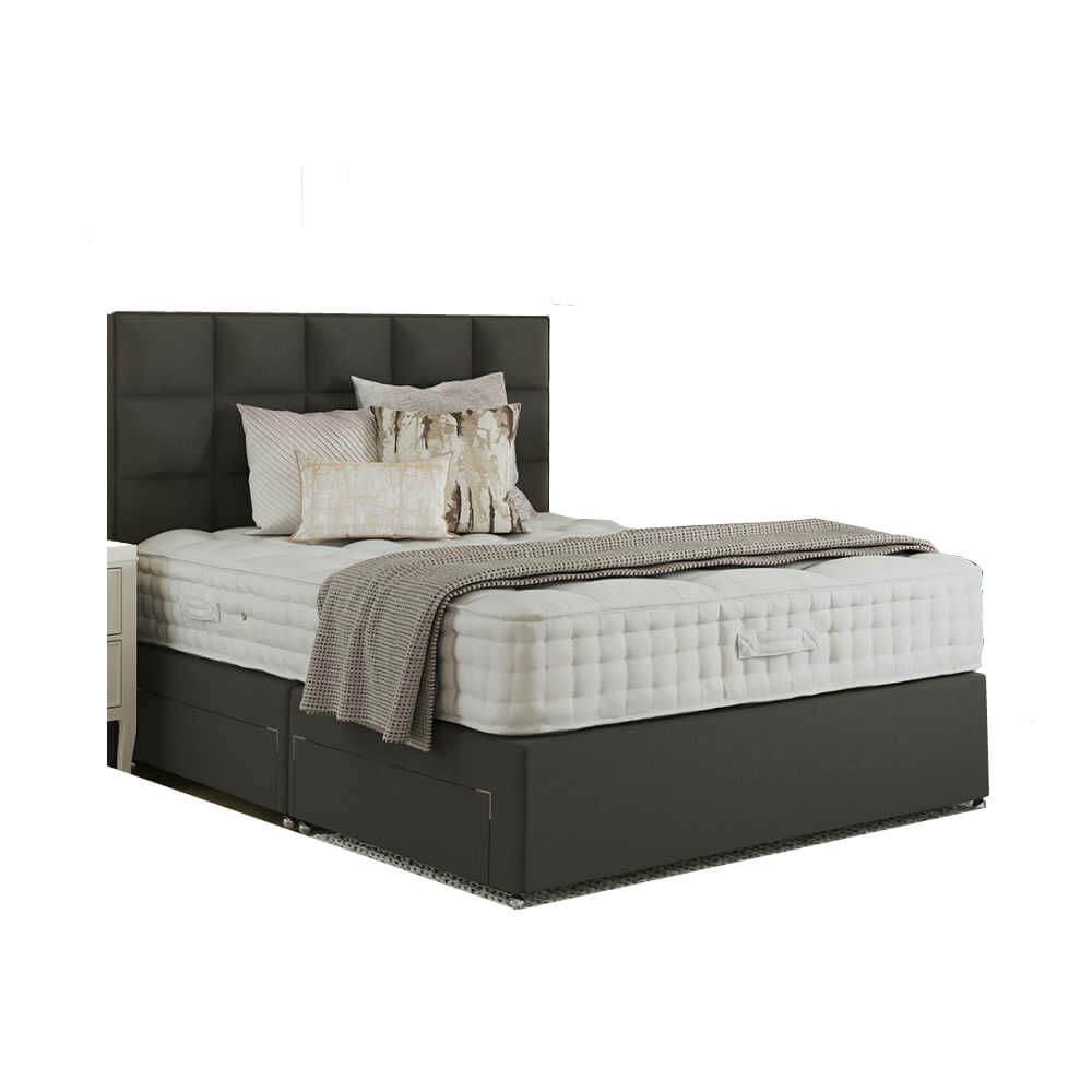 Relyon Royal Osborne Pocket 2000 Divan Bed Super King Size Zip & Link