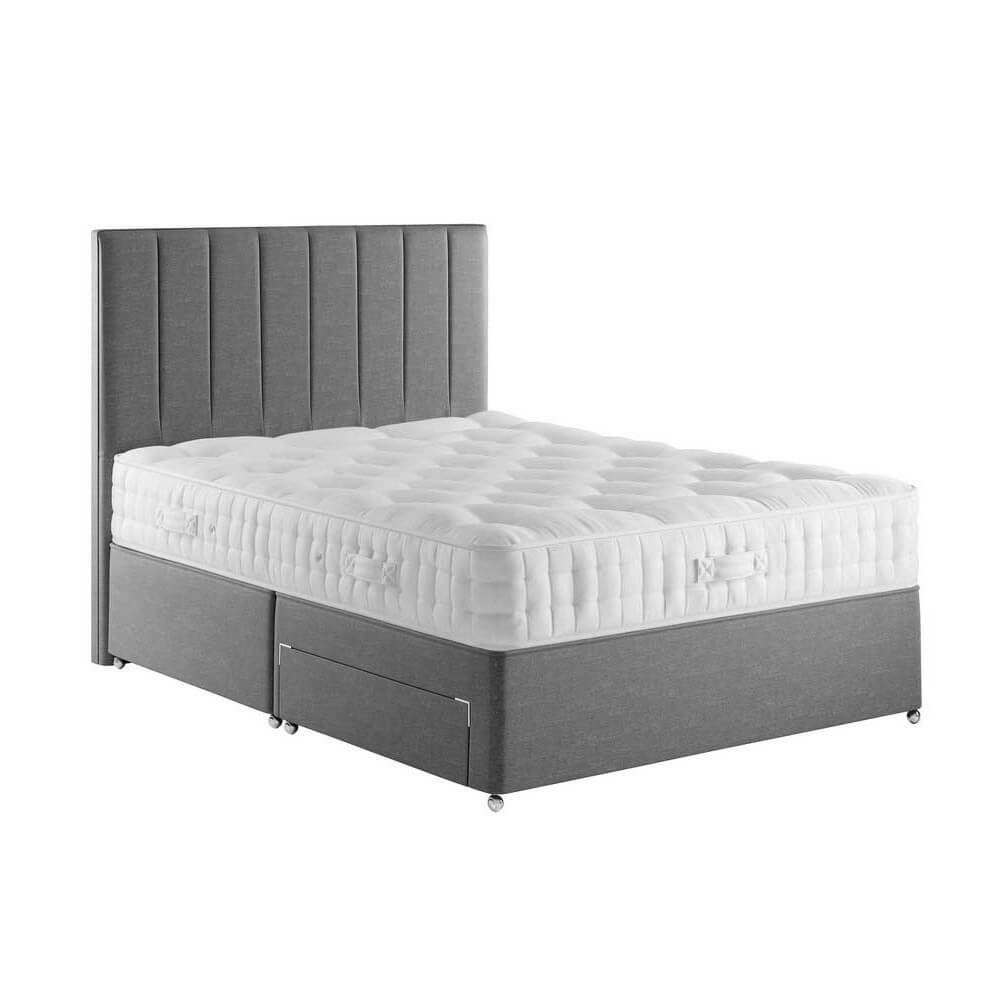 Relyon Pitney Divan Bed Super King Size Zip & Link