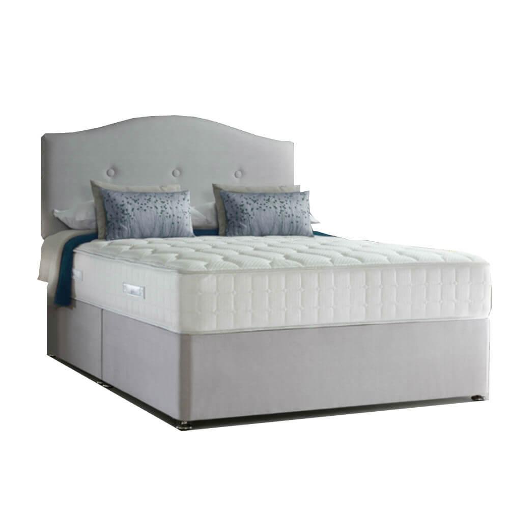 Super King Size Zip & Link Sealy 1400 Genoa Latex Divan Bed