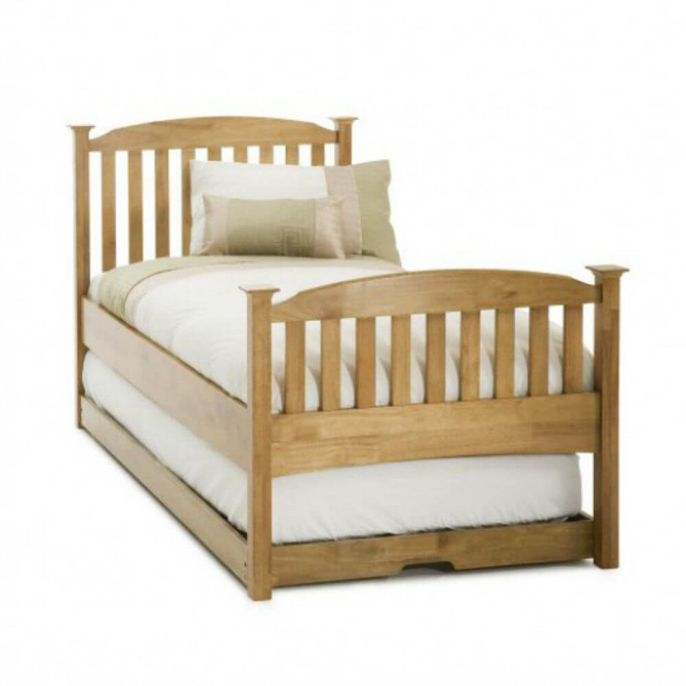 Single Serene Eleanor High Foot End Guest Bed
