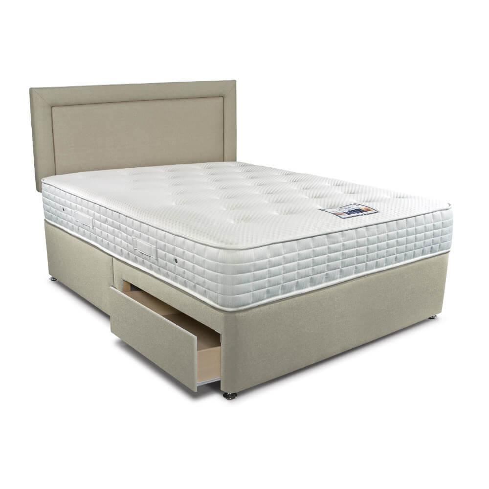 Double Sleepeezee Cool Sensations 1400 Divan Bed