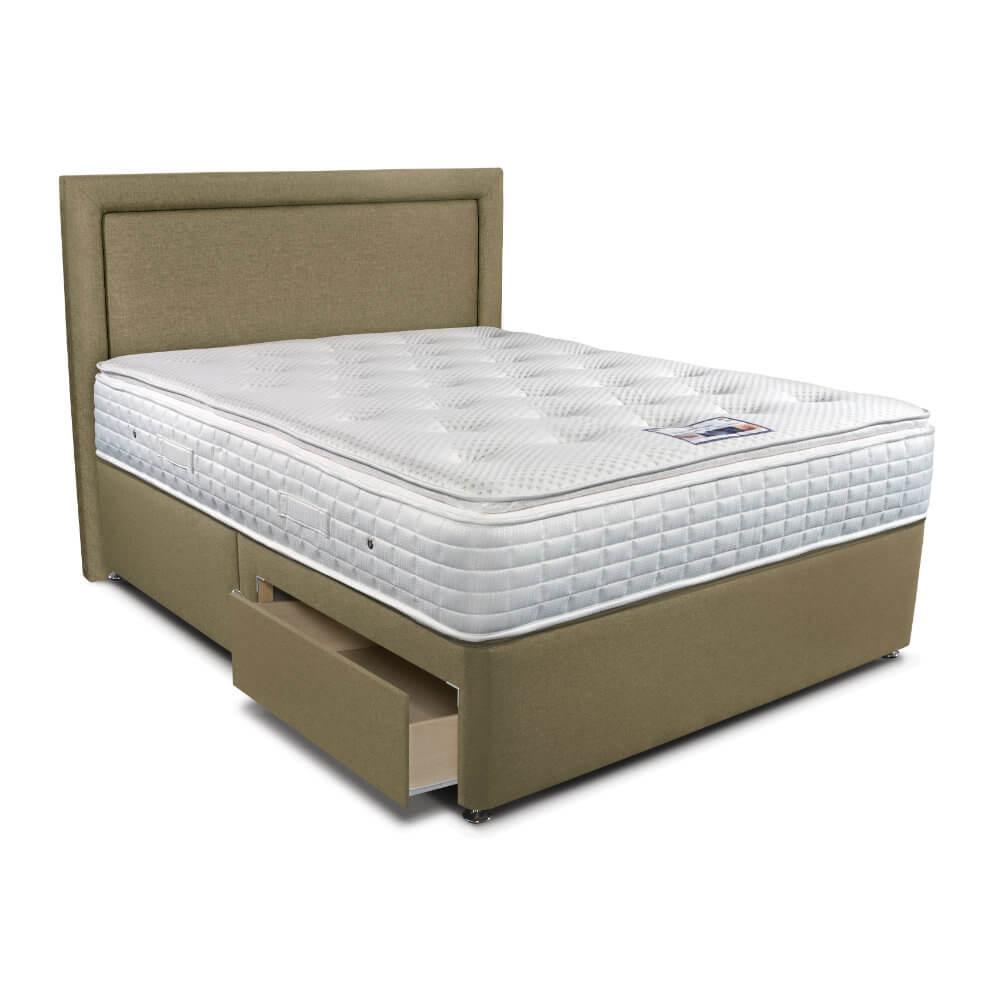 Double Sleepeezee Cool Sensations 2000 Divan Bed